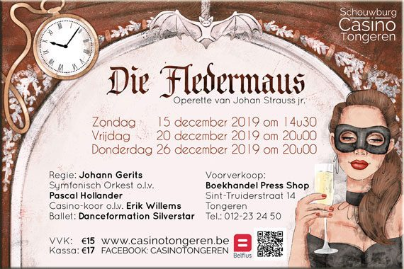 December 2019 – Die Fledermaus