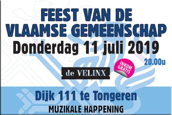11 Juli 2019 –  Feest van Vlaamse Gemeenschap